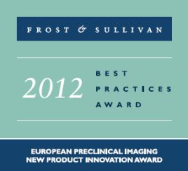 Frost & Sullivan: 2012 European Preclinical Imaging New Product Innovation Award
