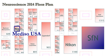 Neuroscience 2014 Floor Plan - Mediso USA #711